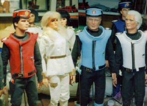 CaptainScarletPuppets.jpg, gerry anderson, scarlet, captain scarlet,marionettes,spectrum,cloud base,puppets,1960s classic tv,british classics,thunderbirds,stingray,joe 90,secret service,freball xl 5,sylvia anderson, warren disbrow anderson fan,warren f disbrow gerry anderson collection